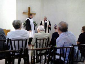 Návšteva a vystúpenie pri Službách Božích re. Dušana Tótha z Toronta/Kanada